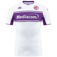 2021/22 Fiorentina Away Whte Fans Soccer Jersey