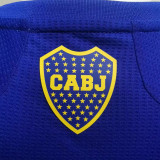 2021/22 Boca Home Blue Player Soccer Jerseys