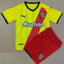 2021/22 Lens Home Kids Soccer Jersey