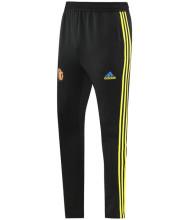 2021/22 M Utd Black Sports Trousers 黄三边