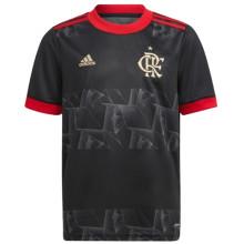 2021/22 Flamengo Third Black Fans Soccer Jersey