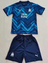 2021/22 Marseille Away Kids Soccer Jersey