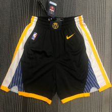2021 Warriors Black NBA Pants