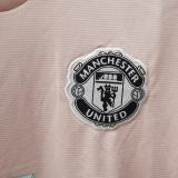 2018/19 M Utd Away Pink Retro Soccer Jersey