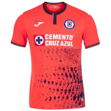 2021/22 Cruz Azul Third Orange Fans Soccer Jersey