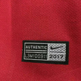 2017/18 AS RM Home Red Retro Soccer Jersey