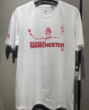 2021 RONALDO Welcome to Manchester White Short Jersey