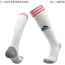2021/22 Benfica Away White Sock