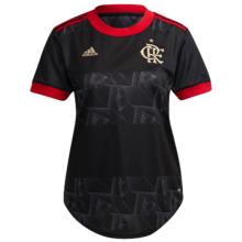 2021/22 Flamengo Third Black Women Soccer Jersey
