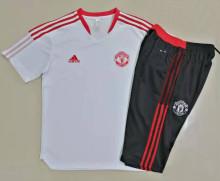 2021/22 M Utd White Short Training Jersey(A Set)