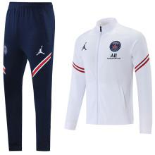 2021/22 PSG White Jacket Tracksuit
