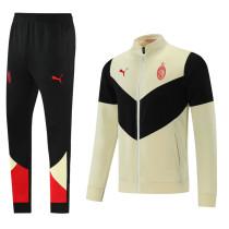 2021/22 AC Milan Black White Jacket Tracksuit