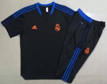 2021/22 RM Black Short Training Jersey(A Set)