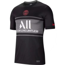 2021/22 PSG Third Black Fans Soccer Jersey