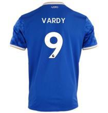 VARDY #9 Leicester City Home Blue Fans Jersey 2021/22 (League Font)