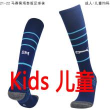 2021/22 Marseille Away Blue Kids Sock