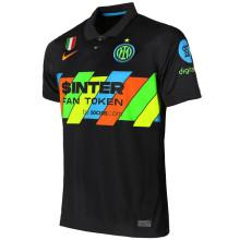 2021/22 In Milan Third Black Fans Soccer Jersey