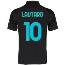 LAUTARO #10 In Milan Third Fans Jersey 2021/22