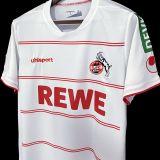 2021/22 FC Köln Home White Fans Soccer Jersey
