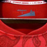 2021/22 FC Köln Away Red Fans Soccer Jersey