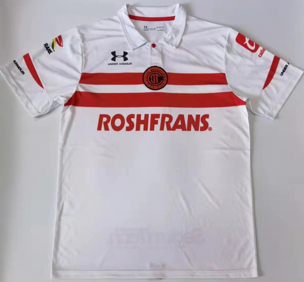2021/22 Toluca FC Away White Fans Soccer Jersey
