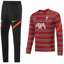 2021/22 LFC Red Sweater Tracksuit