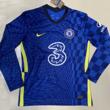 2021/22 CFC Home Blue Long Sleeve Soccer Jersey