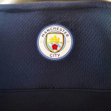 2021/22 Man City Third Black Player Version Soccer Jersey