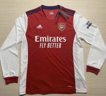 2021/22 ARS Home Red Long Sleeve Soccer Jersey