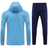 2021/22 TH FC Blue Kids Hoody Zipper Jacket Tracksuit