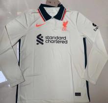2021/22 LFC Away Long Sleeve Soccer Jersey