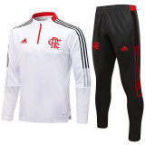 2021/22 Flamengo White Sweater Tracksuit
