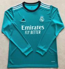 2021/22 RM Third Green Long Sleeve Soccer Jersey
