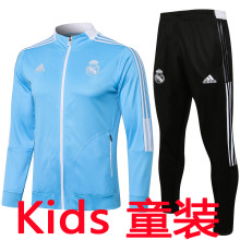 2021/22 RM Sky Blue Kids Jacket Tracksuit