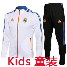 2021/22 RM White Kids Jacket Tracksuit