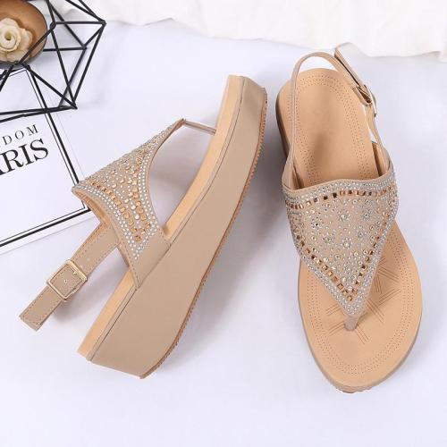 Summer New Large Size Thick Bottom Sandals