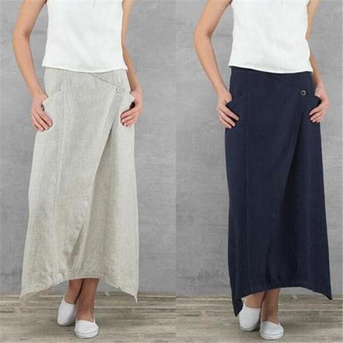 Loose Irregular High Waist Skirts