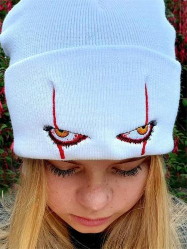 Super Cool Scary Eyes Hip-Hop Style Beanies