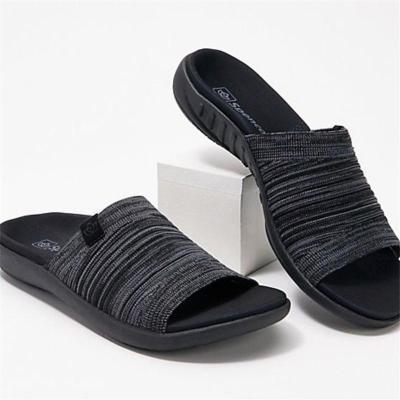 Casual Lightweight Open-Toe Non-Slip Flat Sandals