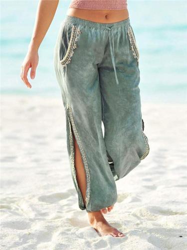 Yoga Harem Side Slit Jogger Pants