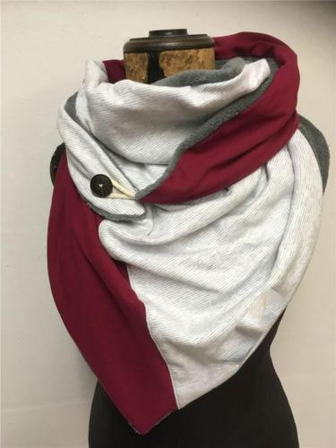 Stylish Comfortable Printed Neck Warmer Triangle Scarves & Shawls