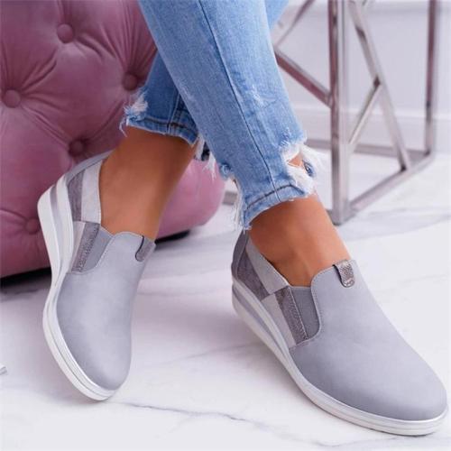 Women's Casual Low Heel Slip-On Loafers