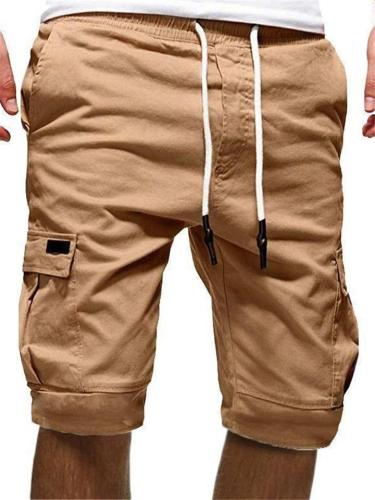 Men's Overalls Style Casual Sport Shorts