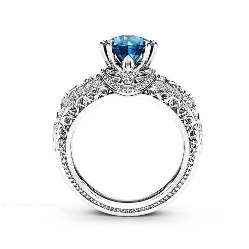 Women's Classical Design Crystal Rings