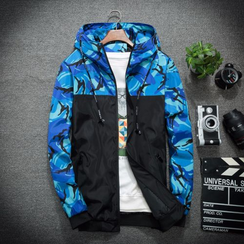 Men's Quick Dry Breathable Camouflage Jacket
