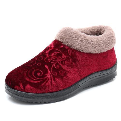 Soft Cozy Warm Non-slip Snow Boots