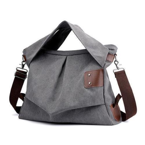Canvas Casual Large Capacity Tote Handbag Crossbody Bag