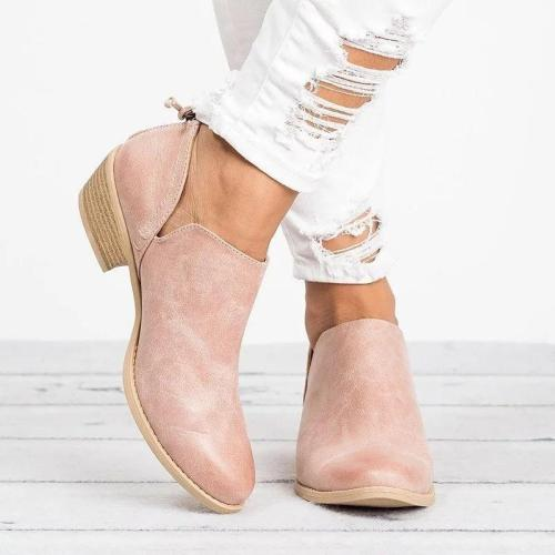Women's Elegant Chunky Heel Shoes