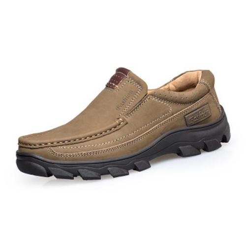 Men Casual Outdoor Slip-On Non-slip Hiking Shoes