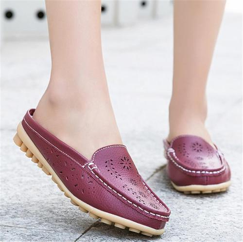 Fashion Breathable Comfy Casual Leather Loafers